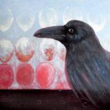 Raven with Cojones