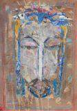 Głowa Chrystusa w koronie cierniowej