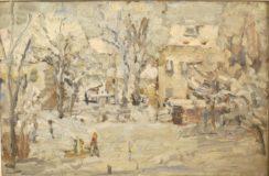 Pejzaż zimowy (1962)