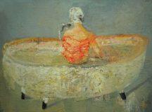 Kobieta w wannie