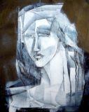 Portret biały