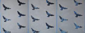 High way birds (tryptyk)
