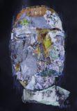 Głowa I na czarnym tle