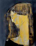 Portret grafitowo-złoty