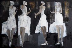 (bez tytułu) Białe suknie