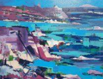 Meditarenian Abstrakt Landscape