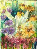 Radość w kwiatach